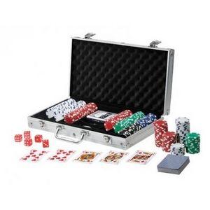 Delta - malette poker 300 jetons - Caja De Juegos