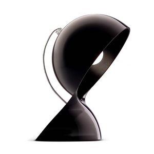ARTEMIDE - dalu - lampe à poser noir h26cm | lampe à poser ar - Lámpara De Sobremesa