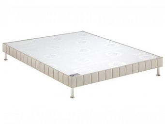 Bultex - bultex sommier tapissier confort ferme pierre 90 - Canapé Con Muelles