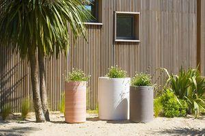 POTERIE GOICOECHEA - cylindre lisse - Jardinera De Flores