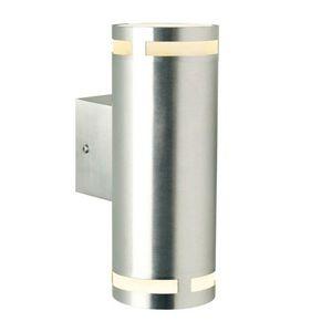 Nordlux - lampe led gu10 can maxi ip54 h23 cm - Aplique De Exterior