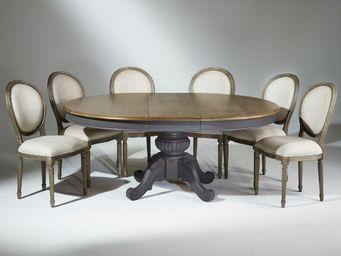 Robin des bois -  - Mesa De Comedor Ovalada