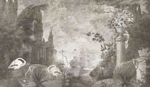 Ananbô - le jardin de portobello - Papel Pintado Panorámico
