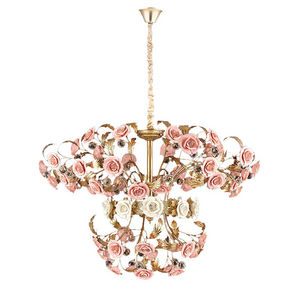 ALAN MIZRAHI LIGHTING - am9962 rose bouquet - Araña