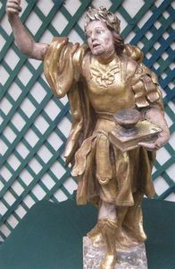 Antiquité Bosetti - sculpture st eustache - Escultura