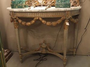 507 ANTIQUES -  - Consola Media Luna