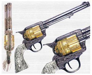 Pistola y revólver