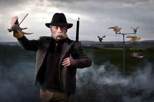 PHOTOBAY - tir au pigeon - Fotografía