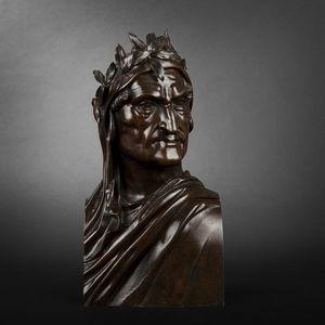 Expertissim - d'après ettore ximenes. buste en bronze - Busto