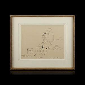 Expertissim - andré dunoyer de segonzac. knock out - Dibujo Con Tinta