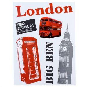 MAISONS DU MONDE - sticker london - Adhesivo