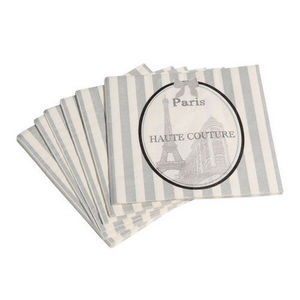 Maisons du monde - serviette haute couture x20 - Servilleta De Papel