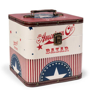 Maisons du monde - coffre american co. - Caja De Juegos
