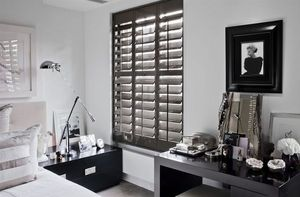 DECO SHUTTERS - shutters kelly hoppen en peuplier high gloss - Postigos Plegables Persianas