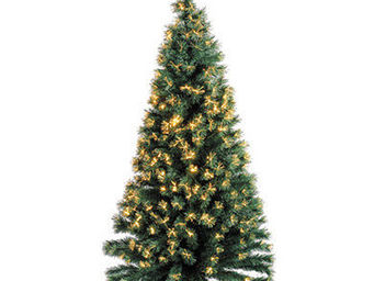 Blachere Illumination - sapin vert fibre optique - Abeto De Navidad Artificial