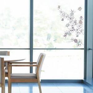 Nouvelles Images - sticker déco vitrage branche de sureau - Adhesivo