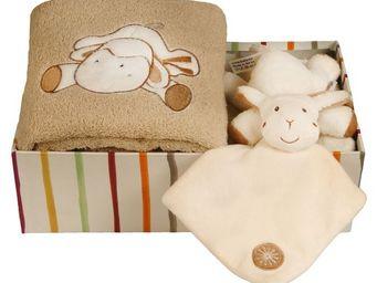 SIRETEX - SENSEI - coffret doudou mouton ficelle - Coffre De Regalo Para Bebé