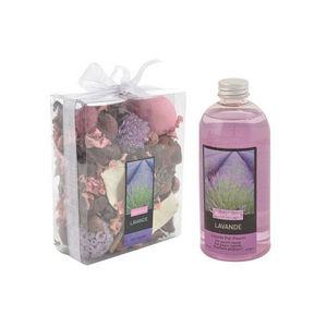 WHITE LABEL - pot pourri recharge liquide de parfum lavande du s - Pot Pourri