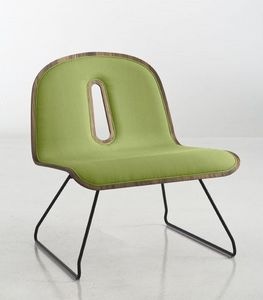 Chairs & More - gotham woody - Silla Baja