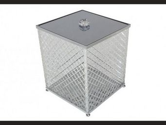 Cristal Et Bronze - cristal taille  d - Papelera De Cuarto De Ba�o