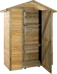 JARDIPOLYS - grande armoire de jardin en bois - Cobertizo De Jardín
