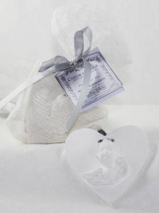 Le Pere Pelletier - coeur d'ange parfumé à suspendre senteur la chimè - Bolsa Perfumada