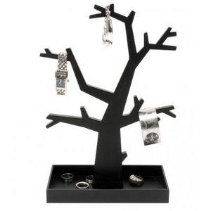 Present Time - arbre àbijoux noir ou argenté - couleur - noir - Portajoyas