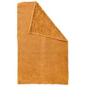TODAY - tapis salle de bain reversible - couleur - orange - Alfombra De Baño