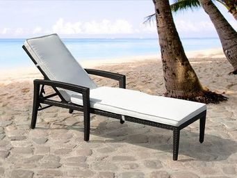 BELIANI - meubles en rotin - Tumbona Para Jardín