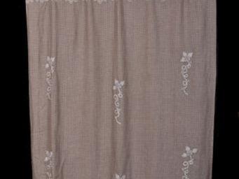 Coquecigrues - paire de rideaux nouveaux extravagantes carreaux - Cortina Confeccionada