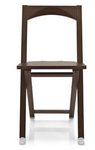 Calligaris - chaise pliante olivia wengé de calligaris - Silla Plegable