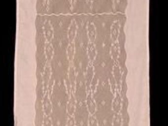 Coquecigrues - rideau à cantonniçre soir d'ètè lilas - Cortina Confeccionada
