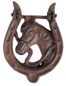 BEST FOR BOOTS - heurtoir de porte fer à cheval - Aldaba