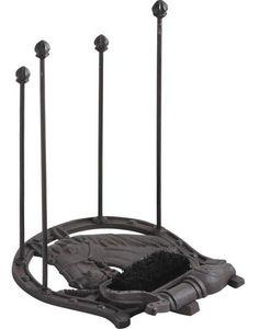 Aubry-Gaspard - porte-bottes fonte fer à cheval - Cepillo Para Botas