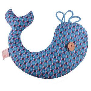 ROSSO CUORE - seeds pillow balena - Reposacabezas