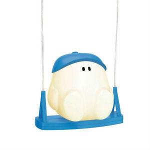 Philips - buddy swing - suspension bonhomme balançoire bleu  - Lámpara Colgante Para Niño