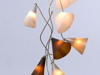 Pa Design - guirlande - noël argenté 20 lumières 3,1m | guirla - Guirnalda Luminosa