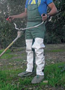 PATTONES ROBERTS - salopette pour débrousailleuse anti vibrations - Delantal De Jardín