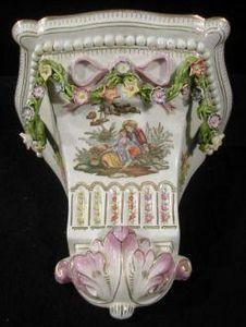 Demeure et Jardin - console louis xvi - Consola (arquitectura)