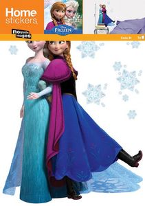 Nouvelles Images - sticker mural reine des neiges - Adhesivo