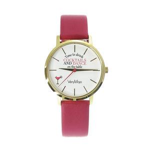VERYMOJO - cocktail  - Reloj