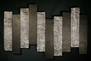 Panel de madera esculpido