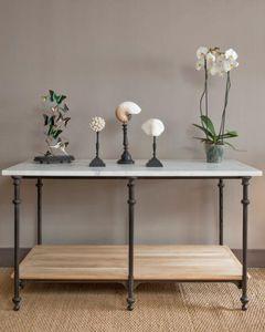 Au petit parisien -  - Mesa Table De Drapier