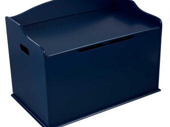 KidKraft - coffre à jouets en bois austin bleu - Baúl Para Juguetes