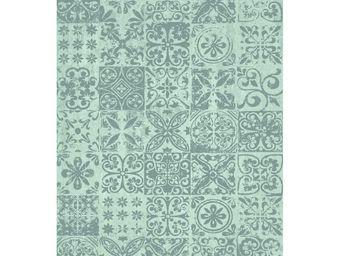 WHITE LABEL - tapis washed 240 x 170 cm - greca - l 240 x l 170 - Alfombra Contemporánea