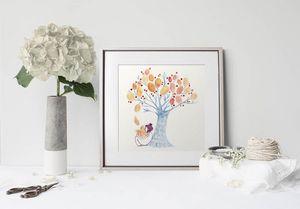 la Magie dans l'Image - print art un arbre - Póster