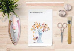 la Magie dans l'Image - papier transfert un arbre - Transfert