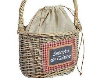 Clementine Creations - panier a anse - Cesta