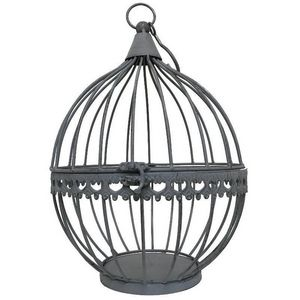 CHEMIN DE CAMPAGNE - boule cage porte bougie porte plante à suspendre 2 - Linterna De Exterior