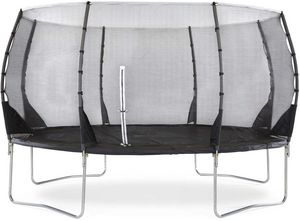 Plum - trampoline avec filet innovant 3g magnitute 426 cm - Cama Elástica